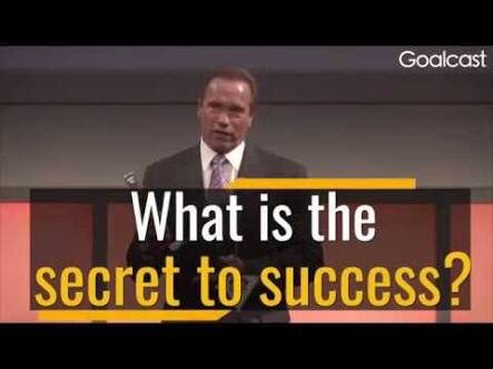 Arnold Schwarzenegger reveals his 5 secret keys for success